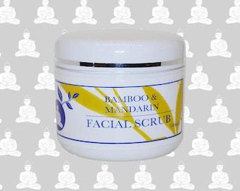 Bamboo & Mandarin Organic Facial Scrub