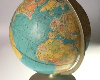 """Rand Mcnally Full Maridian World Globe 12"""""""