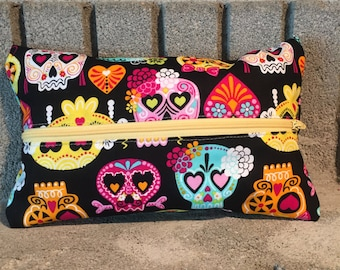 Skulls and Bows Mega Pouch