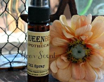 PATCHOULI RAIN - Dry Oil Body Mist - Silky Perfume Spray -  Hair/Body Safe