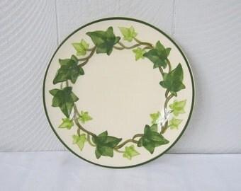 Vintage Ivy Franciscan China.  Ivy Dinner Plates.