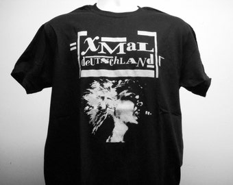 Xmal Deutschland T-shirt (FREE SHIPPING in the USA only) Goth Post-punk Cocteau Twins Siouxsie Dead Can Dance Clan of Xymox Joy Division