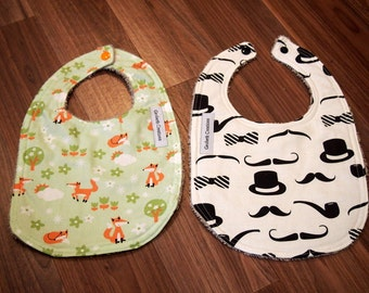 SALE Feeder Bibs set of 2