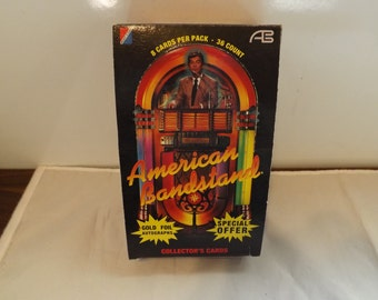 Complete Box American Bandstand Collectors Cards Plus