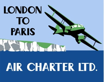 Air Charter Limited - Poster Print