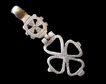 Hinged Ethiopian Coptic Cross Pendant : Ethiopia Jewelry Beads