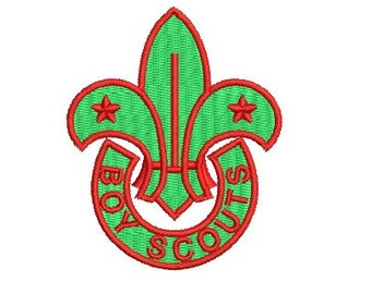 boy scouts embroidery design