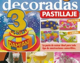On Sale!!!!  Cake Decoration Magazine 3 - by Myriam Mollo (Spanish) - RETIRED