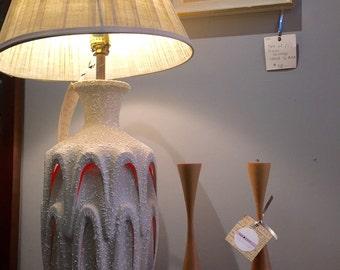 Mid Century Modern Interior illumination +3 Way Bulb Sculptural Lamp