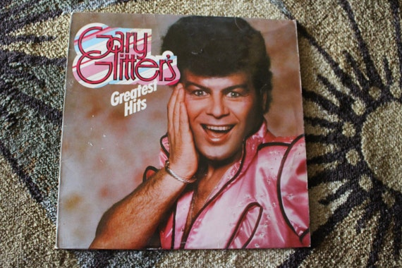 David Jones Personal Collection Record Album - Gary Glitter - Gary Glitter's Greatest Hits