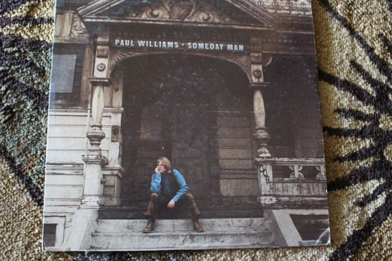 David Jones Personal Collection Record Album - Paul Williams - Someday Man