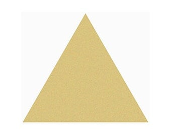 TRIANGLE Unfinished Wooden Craft Shape, Do-It-Yourself