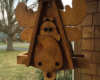 Moose Birdfeeder