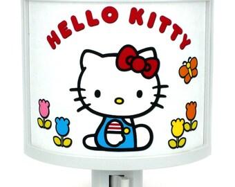 Hello Kitty cute night light nursery bathroom hallway bedroom TAKE IT with