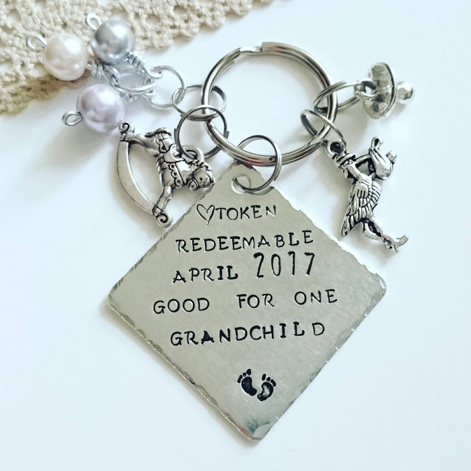 Expecting Baby Gifts Uk : Baby announcement grandparents pregnancy reveal gift surprise
