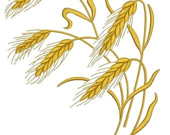spikelets Machine Embroidery Designs - tested