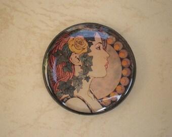Vintage brooch, Art Nouveau, Art Nouveau jewelry, Vintage jewelry, Art Nouveau brooch