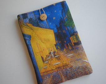 iPad mini 4 case, Kindle Fire HD, eReader case, Fabric tablet sleeve, Galaxy tab case, iPad Air, Kobo Glo, Nexus 9, Van Gogh Art