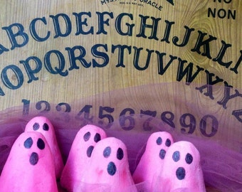 Pink Ghost solid bubble bath bar