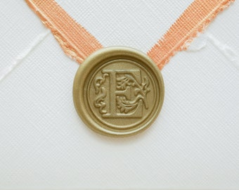 E Letter Wax Seal | Initial Wax Seal Stamp