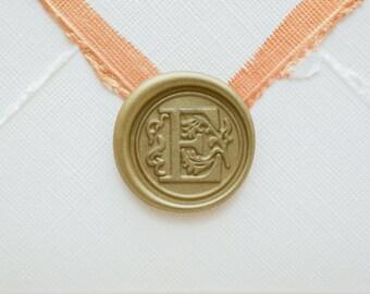 E Letter Wax Seal