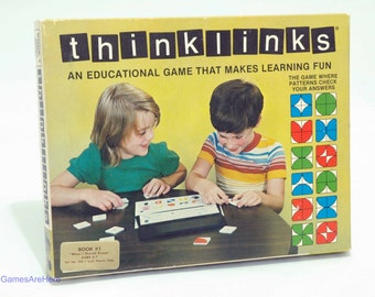 Thinklinks Educational Game from Tycro 1979 Book 1 What I Should Know with Extra COMPLETE