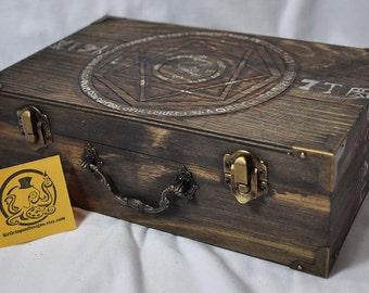 "Supernatural Inspired  ""Monster Hunting Case"" Curse Box Kit"