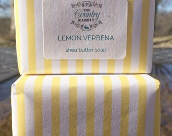 Shea Butter - Vegan Soap - Lemon Soap - Citrus Soap - Vegan Bar Soap - Vegan Lotion - Handmade soap - Vegan Lemon Soap - Bar Soap
