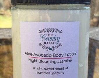 Body Lotion - Body Cream - Aloe Body Lotion - Aloe Body Cream - Aloe Vera Lotion - Jasmine Lotion - Moisturizing Body Lotion - Aloe Vera