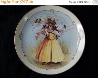 HAPPY SALES Little Captive - Maud Humphrey Bogart Collector/Collectible Plate 1989