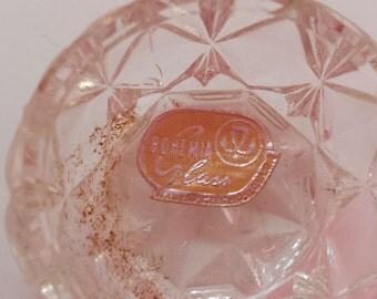 Bohemian Glass Salt Dips - Set of 6