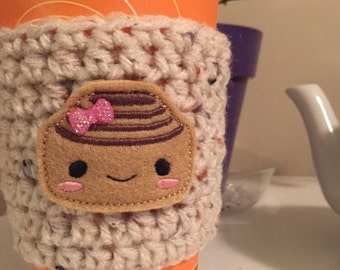Cinnamon Bun Cup Cozy