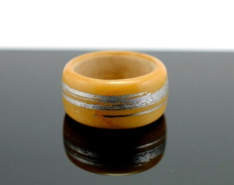 Boxwood wooden ring