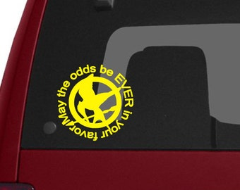 May the Odds be Ever in your Favor Vinyl Decal