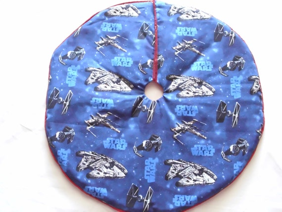 Star Wars Spaceship Mini Tree Skirt.