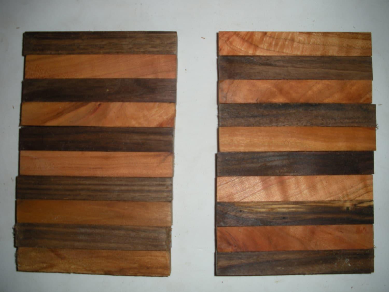10 Black Walnut And 10 Wild Cherry Pen Blanks Turning Wood