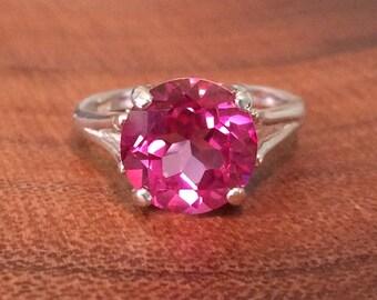 SALE - Blush Topaz Ring