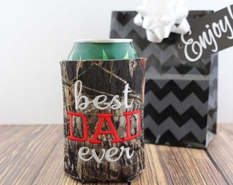 Dad- Gift- Daddy- Personalized- Father- Can Cuddler ®- with- Free- KOOZIE ®- Beer- Slim Can- 8oz- Gifts for Dad- Gift for Him- Beer Gift