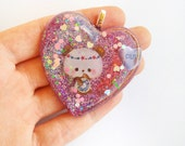 CUSTOM RESERVED Necklace, Kawaii Resin Jewelry, RESERVED Order for Riana M.