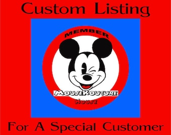 CUSTOME LISTING for kmbarkl1 - Set of 3 Disney Pirate Mister and Miss Mouse Inspired Pirate Head Personalized - Multiple options