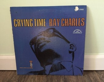"""Ray Charles """"Crying Time"""" vinyl record"""
