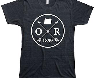 Homeland Tees Men's Oregon Arrow T-Shirt