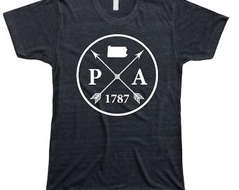 Homeland Tees Men's Pennsylvania Arrow T-shirt