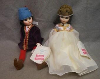 Vintage Pair of MADAME ALEXANDER 12 Inch Romeo & Juliet DOLLS