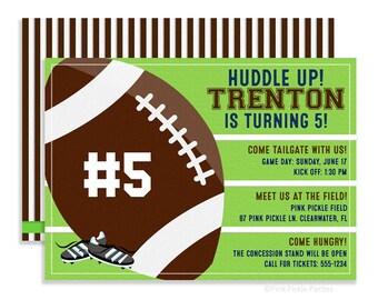 Football Invitation, Football Invites, Football Birthday Invitation, Football Party, Football Party Invitations, Football Printables | 87
