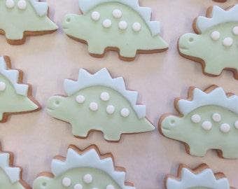 Dinosaur birthday biscuits, dinosaur gift, dinosaur party, Dinosaur Birthday gift, Dinosaur Party, Dino Cookie Gift, Cookie Gift for Kids,