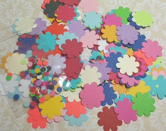 Large Lot of Die Punched Flowers.  #MO-34