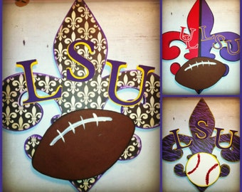 Fleur De Lis- Customized for your teams!