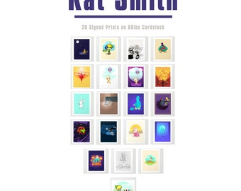 Kat's Art MEGA PACK - Physical Copies