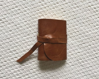 Leather Journal leather Pocket Journal Handmade  leather diary leather prayer journal